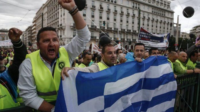 Гърция стачкува